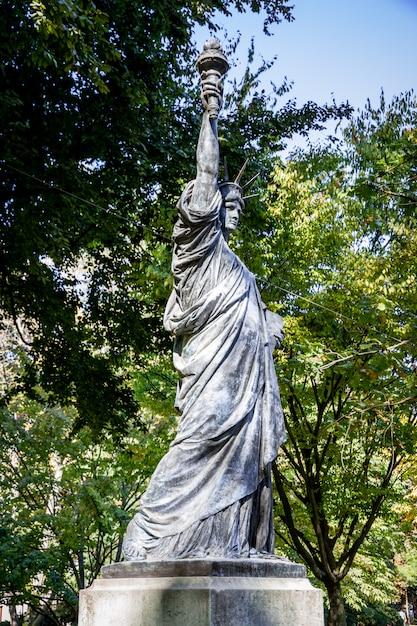 Liberty In Luxembourg Gardens Paris, Statue Of Liberty Garden