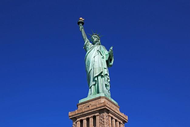 Statue of liberty in new york, usa Premium Photo