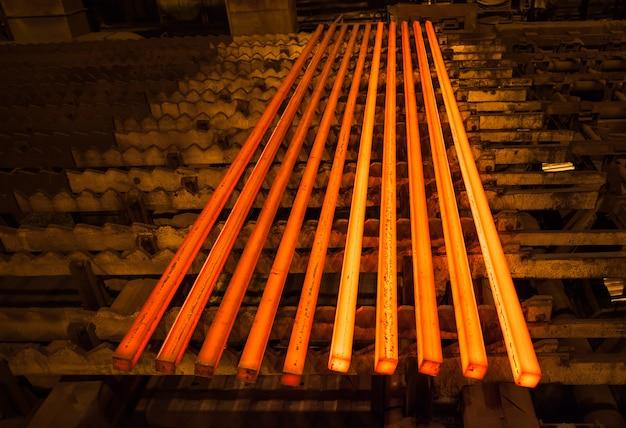 Steel and metal production Premium Photo
