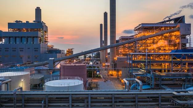 Steel plant, metallurgical plant, metallurgical steelmaking factory. Premium Photo