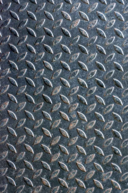 Steel plate background for texture Premium Photo