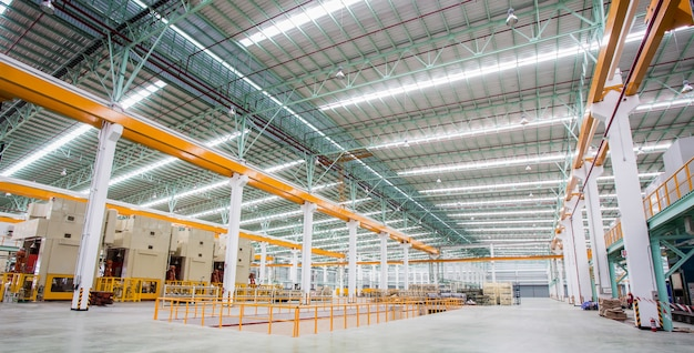 Steel production factory Premium Photo