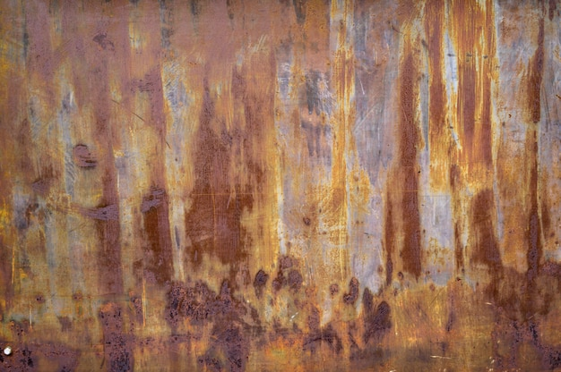 Steel rust texture background Premium Photo
