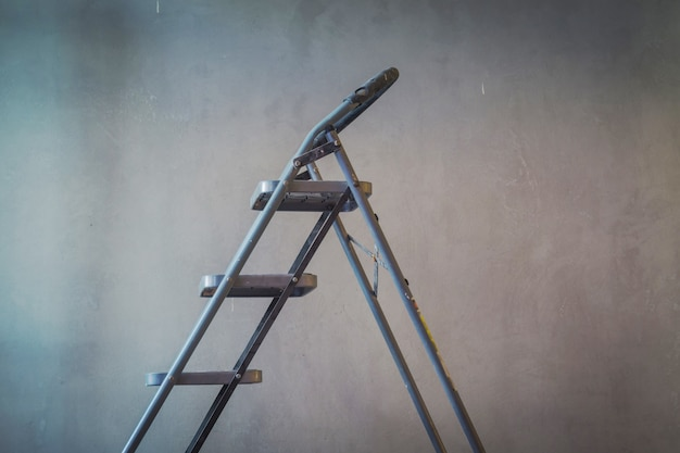 step ladder in a work area