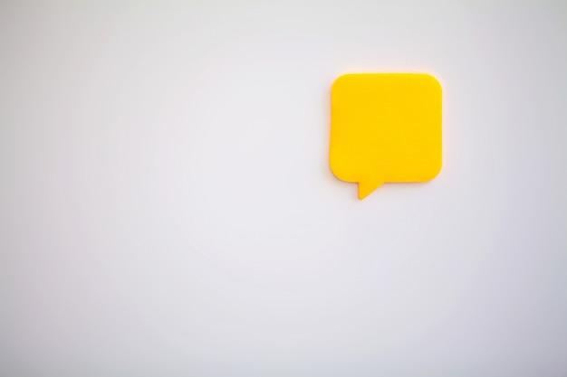 Stickers on white wall Premium Photo
