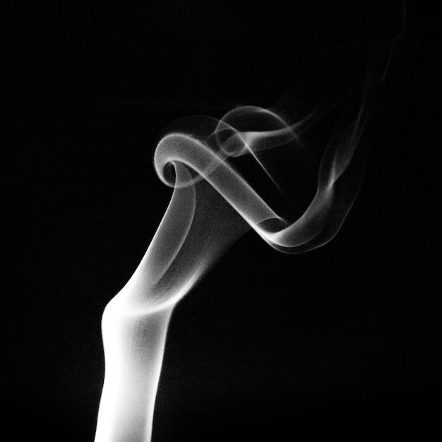 煙の静物写真撮影 無料写真