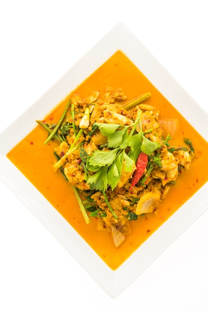 Stir fried crab with curry 1203 7515