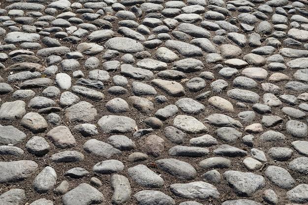 中世の道の石。 Premium写真