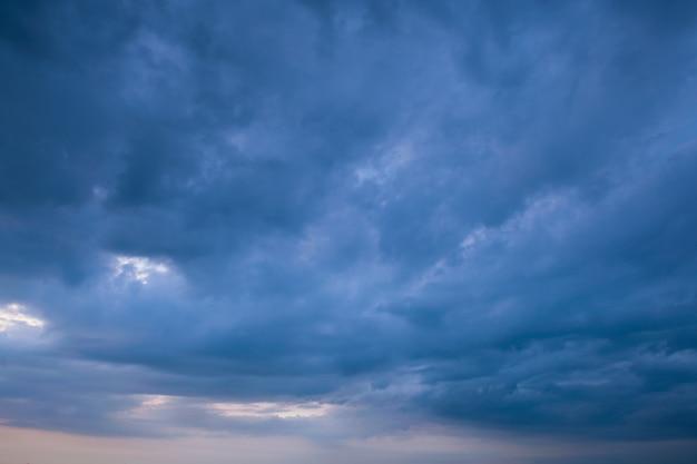Storm cloud & rainy weather background Premium Photo