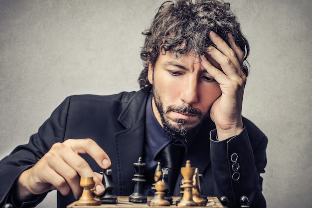 Strategy in business Premium Photo