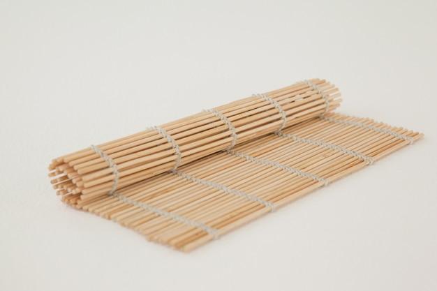 Straw sushi mat Premium Photo