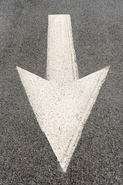 Street arrow signage Free Photo