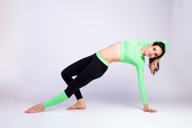 Stretching and motivation Premium Photo