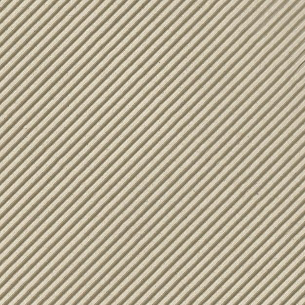 Striped cardboard texture Premium Photo
