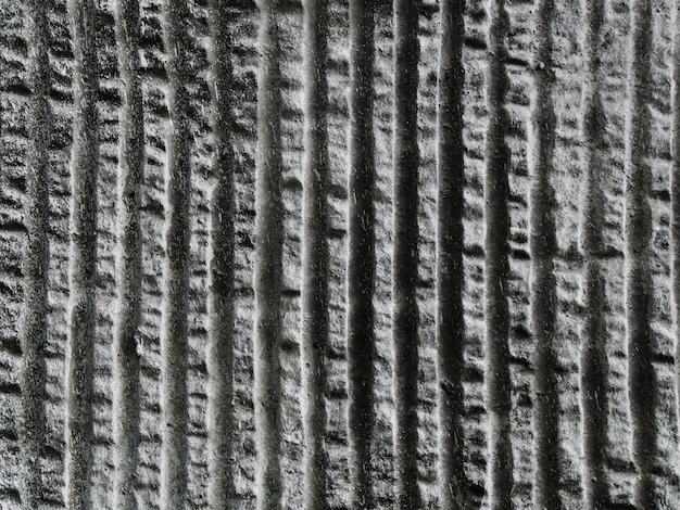 Striped pattern of concrete wall textured Free Photo