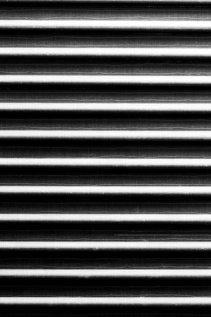 Striped tin material background Free Photo