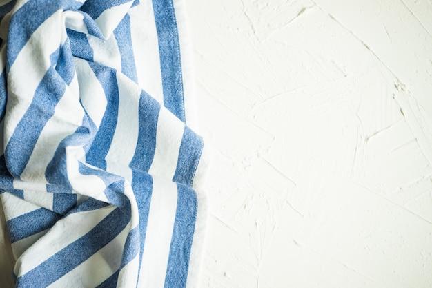 Stripped vintage towel Premium Photo