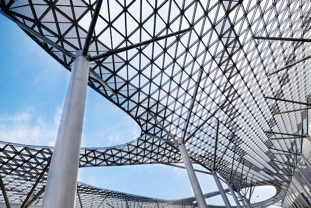 Structural glass ceiling Free Photo