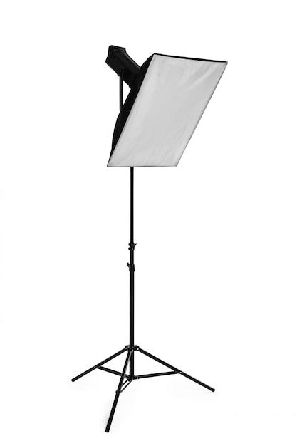 Studio lighting isolated Premium Photo