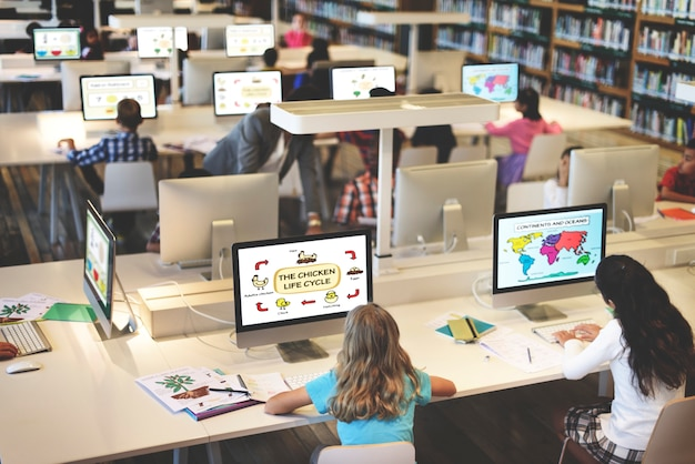 Study studying learn learning classroom internet concept Premium Photo