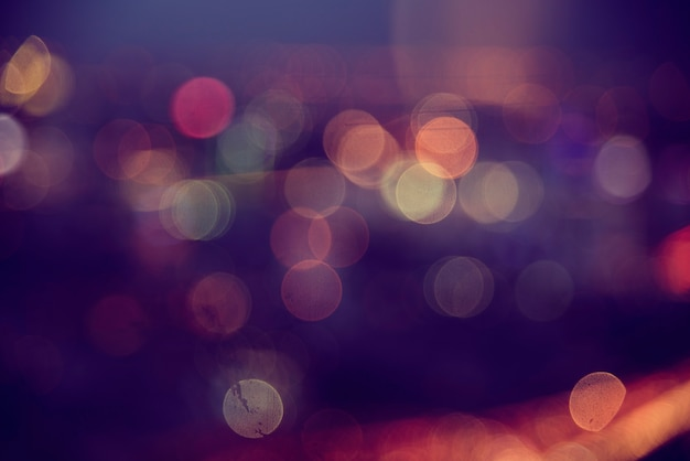 Stunning blurred light abstract Free Photo