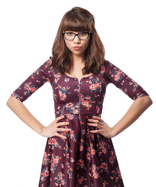 Stylish girl photo | free download.