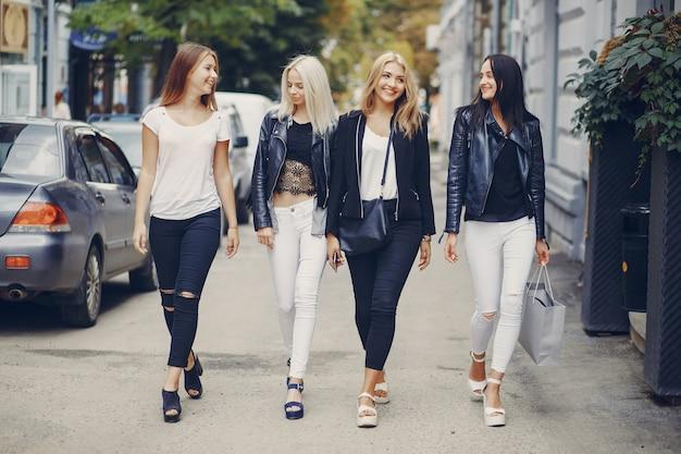 Stylish girls Free Photo