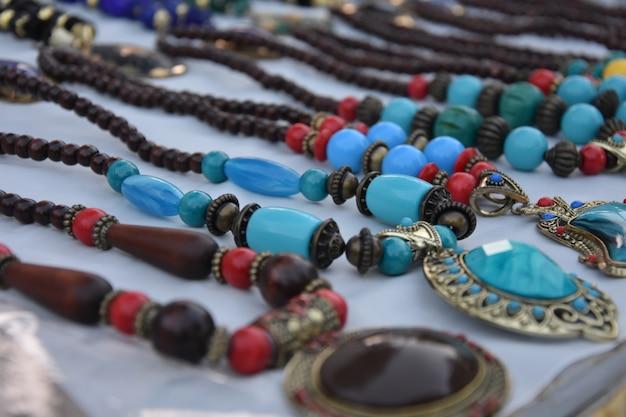 Stylish indian necklace & pendent Premium Photo