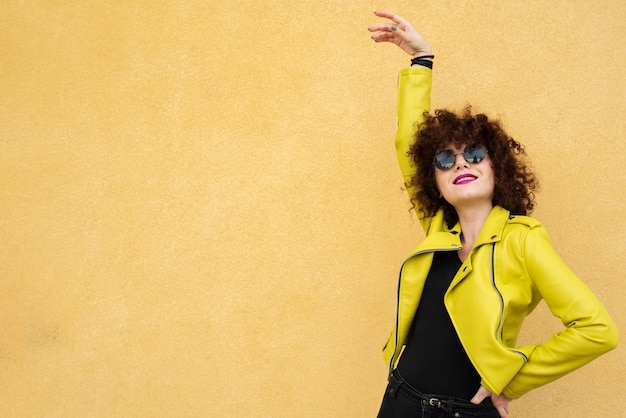 Stylish woman in medium shot Free Photo