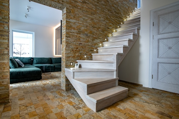 decorative indoor stair railings decorative indoor stair.htm stylish wooden contemporary staircase inside loft house interior  staircase inside loft house interior