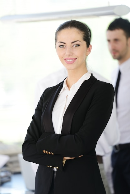 successful business people at office photo premium download