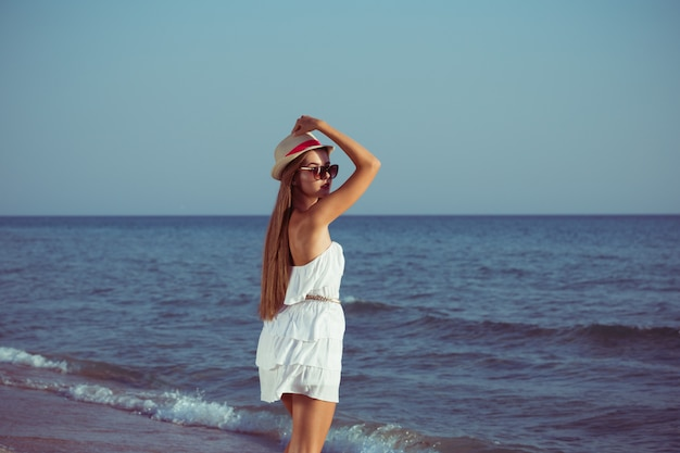 Summer vacation woman Premium Photo