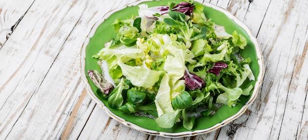 Summer vitamin salad Premium Photo