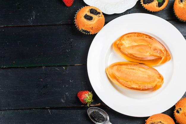 A sumptuous breakfast Premium Photo