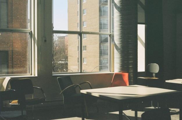 Sunlight through the window Free Photo