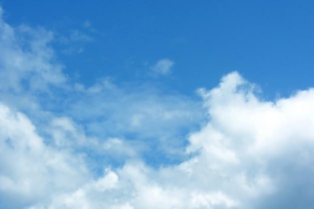Sunny blue sky Free Photo