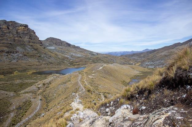 Sunny day in the sierra nevada del cocuy Premium Photo