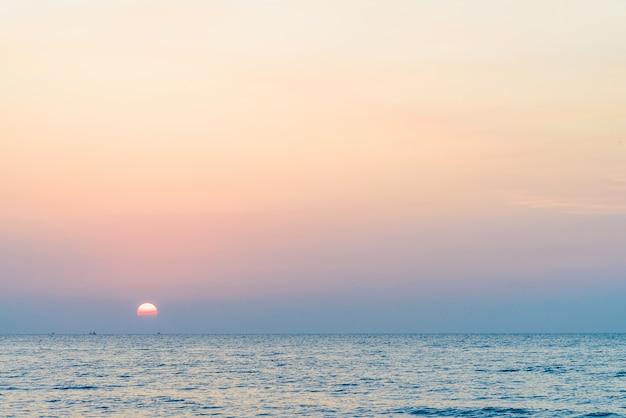 Sunrise sea Free Photo