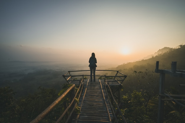 Sunrise view Premium Photo