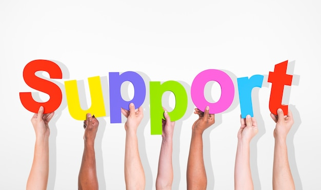 Support diverse diversity ethnic ethnicity variation unity concept Free Photo