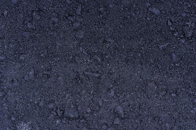 アスファルトの表面グランジラフ、ターマック灰色の粒子の粗い道路、テクスチャ背景、上面図 無料写真