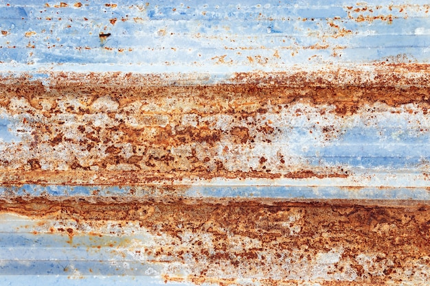 Surface of old dirty rusty of steel, abstract grunge texture Premium Photo