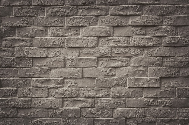 Surface of vintage brick wall background for design in your work texture backdrop concept. Premium Photo
