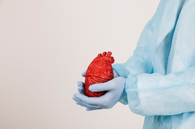 Surgeon with a heart Free Photo