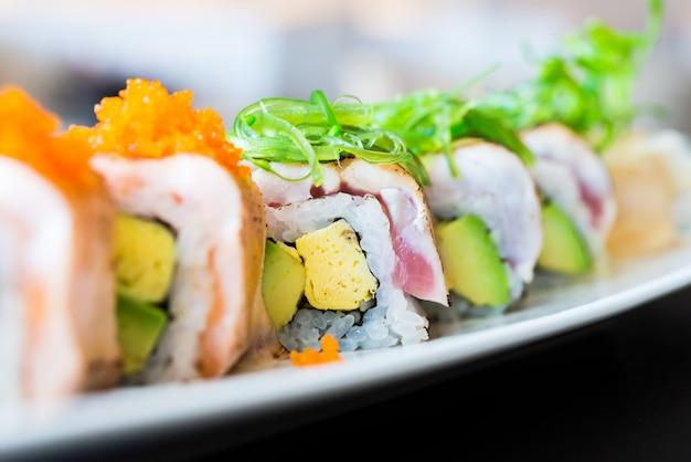 Sushi roll Free Photo