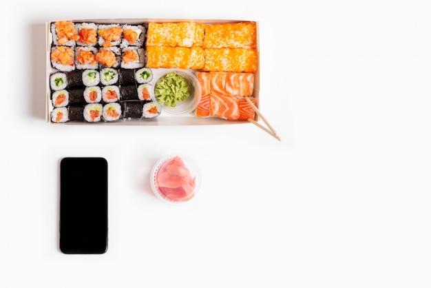 Sushi set Premium Photo