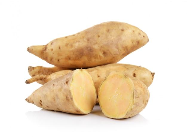 Sweet potato isolated Premium Photo