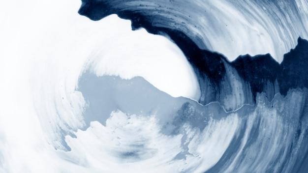 抽象的な水彩画のシンプルな背景の渦巻き模様のパターン Premium写真