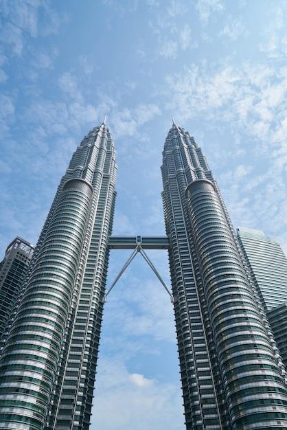 Symmetrical buildings Free Photo