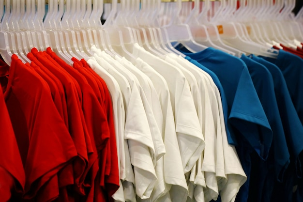T-shirt in shop Premium Photo